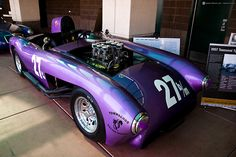 In a Tucson garage, Frank Townsend and friends built custom racecars to challenge the much more expensive 1950s Car, Used Engines, Old Race Cars, Ford Explorer, Ford Ranger, Toyota Camry, Shades Of Purple, Honda Civic, Ford Trucks