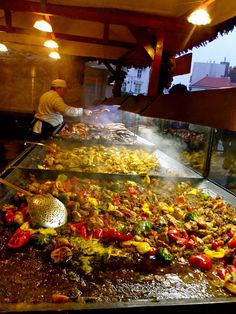 Food markets of Budapest