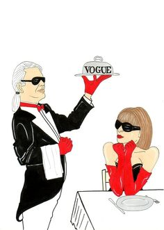 #Chanel & Vogue by controversial artist Alexsandro Palombo