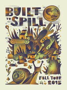 Built To Spill  Fall Tour 2015 Official Gig by ArenVandenburgh