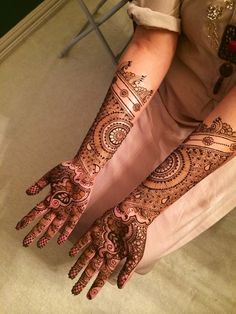 2015 Mehndi Maharani Finalist: Henna By Afshan