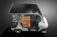 An EV Cart for Everyone Designed for Melex, Designer_Lukasz Paszkowski www.lukaszpaszkowski.pl