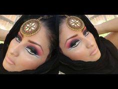 MIDNIGHT GODDESS ARABIC MAKEUP LOOK TUTORIAL How To Be Indie, Arabic Makeup, Makeup Looks Tutorial, Bh Cosmetics, Pretty Face, Makeup Tips, Hair Beauty, Make Up, Tutorials
