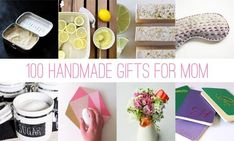 100 of the best handmade gifts for mom! find ideas for jewelry, beauty, home and fashion homemade gifts. Diy Gifts Cheap, Diy Gifts For Mom, Presents For Mom, Easy Diy Gifts, Diy Presents, Homemade Gifts, Top Mother's Day Gifts, Diy Crafts Jewelry, Homemade Beauty