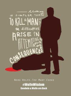 Why we love Nero Wolfe: Nonstop #WolfeWisdom.   www.openroadmedia.com/robert-goldsborough