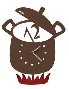 'Hot pot' ARTI & MESTIERI CLOCK