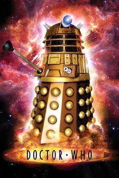 Póster Robot Exterminate, Dr. Who