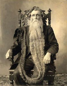 Sorry guys; this man takes the cake for most insanely epic beard. Ever.