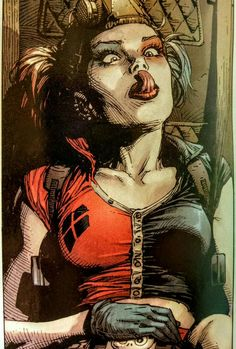 Love you some #HarleyQuinn? Check out the current run of #SuicideSquad. #DCComics #Comics #ComicBooks #DCRebirth #HarleenQuinzel #SKWAD