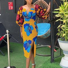 ankara mode Check out this weekly updated list of the cutest, trendy latest Ankara style designs to rock for your owambe, hangouts and party in African Fashion Ankara, Latest African Fashion Dresses, African Print Dresses, African Print Fashion, African Dress, African Attire, African Prints, African Outfits, African Clothes