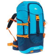 Zaini Montagna, Trekking - Zaino montagna junior FORCLAZ 40 azzurro QUECHUA - Materiale montagna
