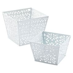 Enjoy free shipping on all purchases over $75 and free in-store pickup on the Large Zig Zag Pot at The Container Store. The dynamic shape of our Large Zig Zag Pot adds some zest to your gift presentations, parties, receptions and buffets. It's perfect for gift baskets, party favors or - because it's food safe - creatively presenting snacks.