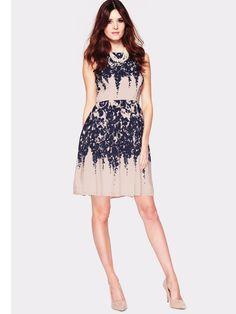 South Mono Floral Print Dress