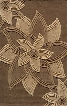 Premium Modern / Contemporary Area Rug Mocha Wool Carpet  Price $599.00 - Favorite but too expensive