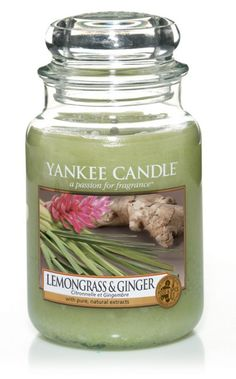 Citronnelle gingembre - Bougie grande jarre - Yankee Candle