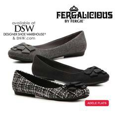 8648cca557b6 The flirty little Fergalicious by Fergie ADELE flat is an oh-so-sweet  choice for any of your favorite outfits