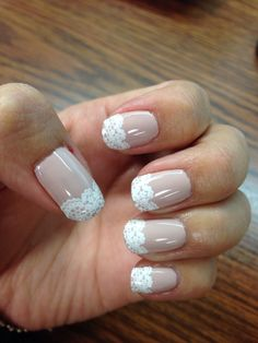 Lace Nails - wedding maybe?