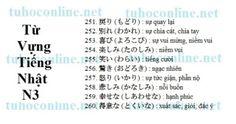 Từ vựng N3 sách mimi kara oboeru 26