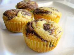 nutella cupcakes-frosting included