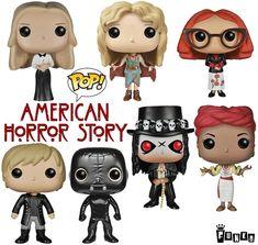 Bonecos Funko Pop! da Série American Horror Story!