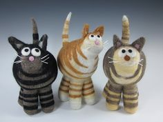 Stylized Tabby Cats from Shades of Nature