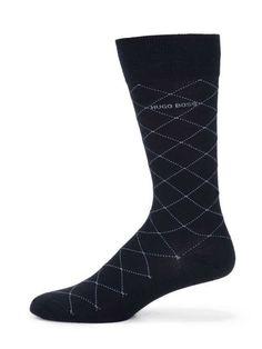 Boss Hugo Boss Diamond Grid Dress Socks on Wantering | An Underwear Affair | mens dress socks | mensdressocks #menswear #mensstyle #mensfashion #bosshugo #wantering http://www.wantering.com/mens-clothing-item/diamond-grid-dress-socks/addmL/