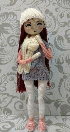 Crochet doll amirugami