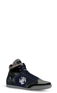 Sneakers - ROBERTO CAVALLI - 100% Calf-skin leather