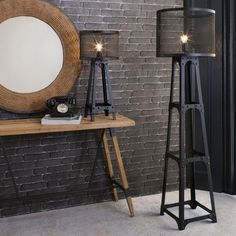 Industrial Floor and Table Lamps - FLOOR LAMPS TYPES AND TRENDS ON CERTIFIED-LIGHTING.COM #industriallamps #floorlamp #tablelamp