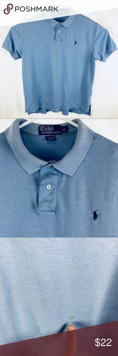 Small NWT Men/'s Polo Ralph Lauren SS Crewneck Classic Fit T-Shirt Elite Blue