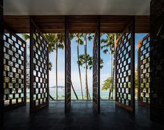 matchbox villas protrude from thai mountainside at naka phuket resort