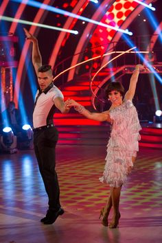 Strictly Come Dancing Dress Rehearsal** Strictly Louis Smith, Flavia Cacace - (C) BBC - Photographer: Des Willie