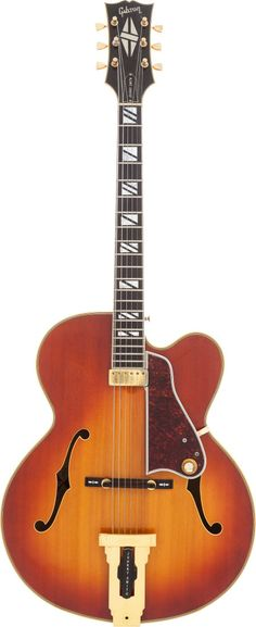 Musical Instruments:Electric Guitars, 1972 Gibson Johnny Smith Sunburst Semi-Hollow Body Electric Guitar,Serial # 120729.... Image #1