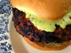 Thai Turkey Burger and more of the best ground turkey burger recipes on MyNaturalFamily.com #turkey #recipe