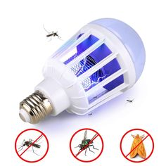 Mosquito Killer Lamp LED Bulbs Home Lighting With Electronics Anti Mosquito Trap Insect killer Mosquito Lamp thermacell Item: LED Mosquito Killer BulbVoltage: PlasticBase Type: Temperature Home Lighting and Mosquito KillerPacking List:A 1 Piece LED Mosquito Zapper, Mosquito Trap, Bug Zapper, Mosquito Killer, Lighting Bugs, Backyard Lighting, Home Lighting, Outdoor Lighting, Lumiere Led