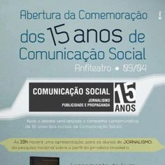 15 anos do curso de Comunicação Social, Ielusc, Joinville