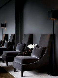 grey is both glamourous and practical   @meccinteriors   design bites