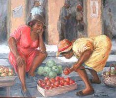Caribbean Art By Romeo Downer - Original art, prints,