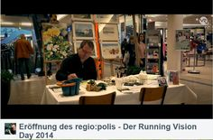 Aquarelle von Frank Koebsch während der regio:polis | Frank Koebsch im Video von Bert Scharffenberg über die Eröffnung des Festivals regio polis (2)