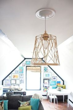7 Budget-Friendly Ways to Save Yourself From Boring Lights >> http://blog.diynetwork.com/maderemade/2015/01/05/7-budget-ways-to-save-yourself-from-boring-lights/?soc=pinterest
