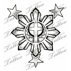 Only the best free Filipino Sun Tribal Tattoo Designs tattoo's you can find online! Filipino Sun Tribal Tattoo Designs tattoo's to print off and take to your tattoo artist. 3 Stars Tattoo, Star Tattoos, Anime Tattoos, Couples Tattoo Designs, Tribal Tattoo Designs, Traditional Filipino Tattoo, Philippines Tattoo, Create My Tattoo, Images Wallpaper