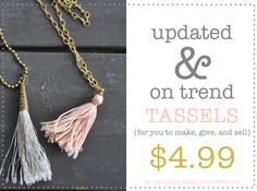 A Collection of Tassel Tutorials