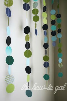 Cute for shower decorations, or for baby room decor.