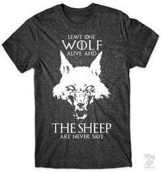 Leave one wolf alive and the sheep are never safe,