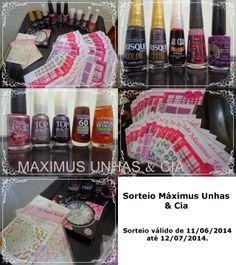 Máximus Unhas & Cia: PRIMEIRO SORTEIO DO BLOG