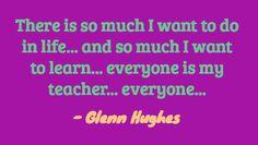 Glenn Hughes @glenn_hughes ~ July 4th, 2012