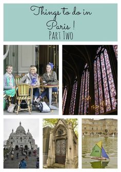Things to do in Paris Part 2...just spent 6 days in Paris...visited many of the same sites....great travelogue!