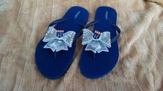 Hey, I found this really awesome Etsy listing at https://www.etsy.com/listing/198600548/royals-inspired-flip-flops