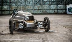 Morgan EV3 is a retro-futuristic electric 3 wheeler