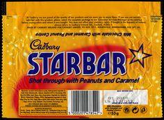 UK - Cadbury - Starbar candy bar wrapper - 2009 by JasonLiebig, via Flickr